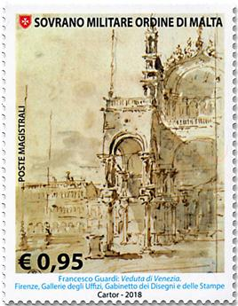 n° 1424/1427 - Timbre ORDRE de MALTE Poste