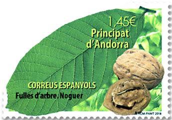 n° 457 - Timbre ANDORRE ESPAGNOL Poste