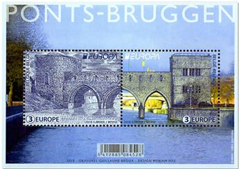 n° F4755 - Timbre BELGIQUE Poste (EUROPA)