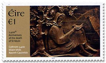 n° 2247 - Timbre IRLANDE Poste