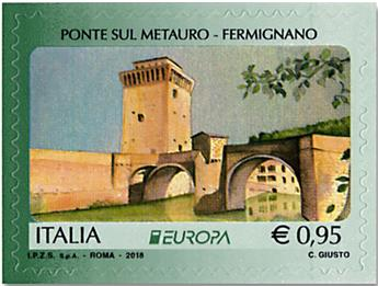 n° 3799/3800 - Timbre ITALIE Poste (EUROPA)