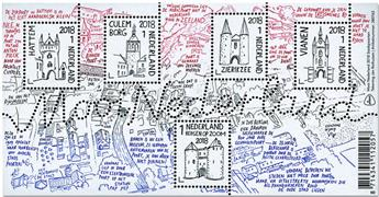 n° F3660 - Timbre PAYS-BAS Poste