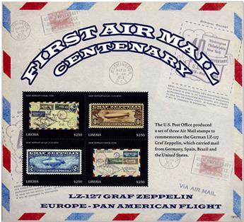 n° 6025/6028 - Timbre LIBERIA Poste