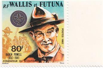 n.o 290A -  Sello Wallis y Futuna Correos