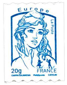 n° 864A - Timbre France Autoadhésifs
