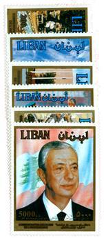 n°315/320** - Timbre LIBAN Poste