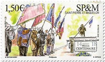 n° 1213 - Timbre Saint-Pierre et Miquelon Poste