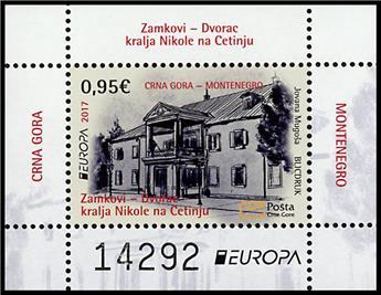 n° 19 - Timbre MONTENEGRO Blocs et feuillets (EUROPA)