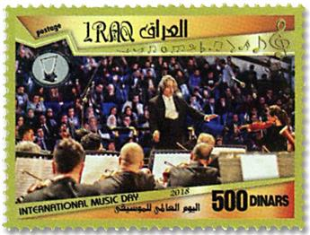 n° 1869/1870 - Timbre IRAK Poste