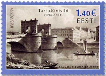n° 848/849 - Timbre ESTONIE Poste (EUROPA)
