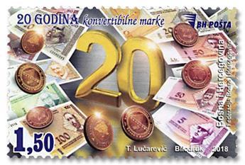 n° 790 - Timbre BOSNIE-HERZEGOVINE Poste