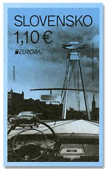 n° 741 - Timbre SLOVAQUIE Poste (EUROPA)