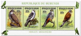 n° 2451/2454 - Timbre BURUNDI Poste