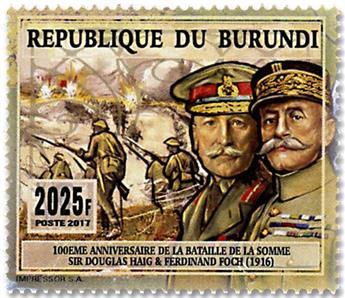 n° 2479 - Timbre BURUNDI Poste