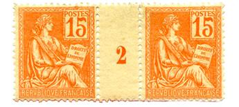 n°117** - Timbre FRANCE Poste