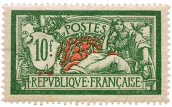 n°207* - Timbre FRANCE Poste