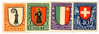 n°192/195** - Timbre SUISSE  Poste