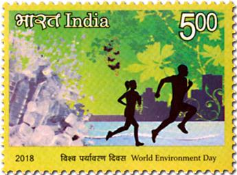 n° 3083/3086 - Timbre INDE Poste