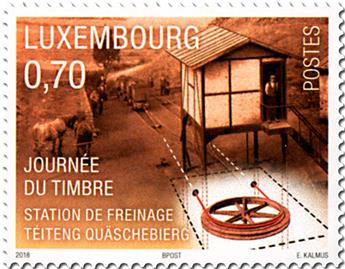 n° 2122 - Timbre LUXEMBOURG Poste