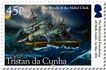 n° 1208/1211 - Timbre TRISTAN DA CUNHA Poste