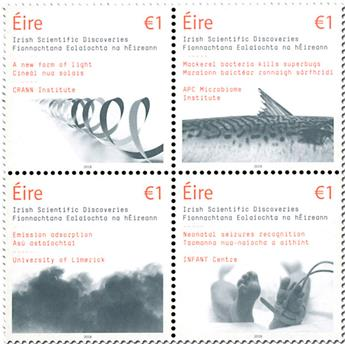 n° 2258/2261 - Timbre IRLANDE Poste