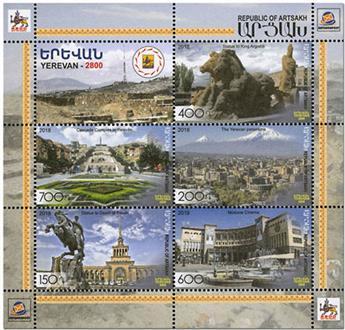 n° 17 - Timbre ARMENIE (Haut-Karabakh) Blocs et feuillets