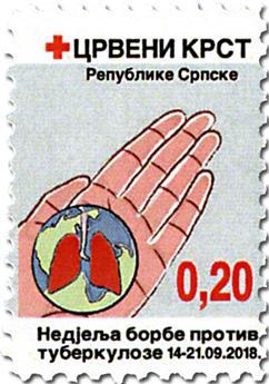 n° 46/46a - Timbre REPUBLIQUE SERBE (DE BOSNIE) Timbres de bienfaisance