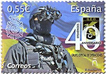 n° 4998 - Timbre ESPAGNE Poste