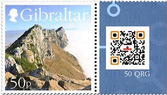 n° 1857 - Timbre GIBRALTAR Poste