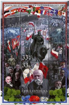 n° 71 - Timbre TCHEQUE (République) Blocs et feuillets