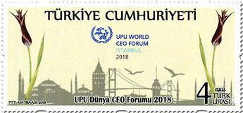 n° 3895 - Timbre TURQUIE Poste
