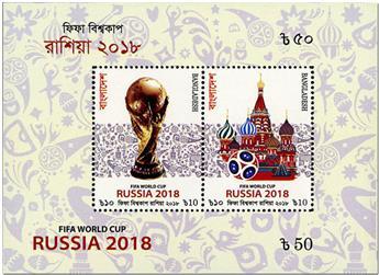 n° 85/86 - Timbre BANGLADESH Blocs et feuillets