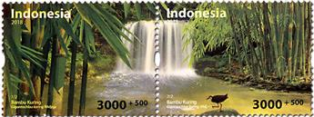 n° 2888/2889 - Timbre INDONESIE Poste