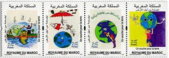 n° 1787/1790 - Timbre MAROC Poste