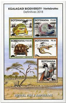 n° 59 - Timbre BOTSWANA Blocs et feuillets