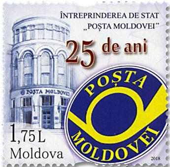 n° 926 - Timbre MOLDAVIE Poste