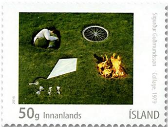 n° 1495/1498 - Timbre ISLANDE Poste