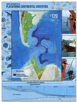 n° 162 - Timbre ARGENTINE Blocs et feuillets