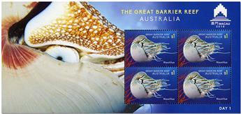 n° 261/264 - Timbre AUSTRALIE Blocs et feuillets