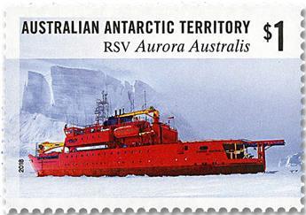 n° 255/258 - Timbre TERRITOIRE ANTARCTIQUE AUSTRALIEN Poste
