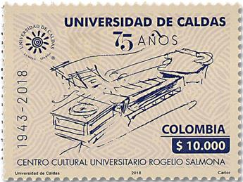 n° 1953 - Timbre COLOMBIE Poste