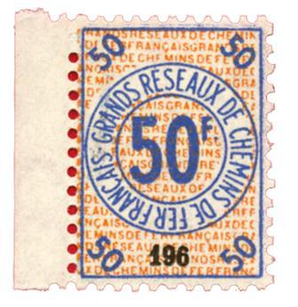 France : CP Petits colis 1935 50 fr neuf**