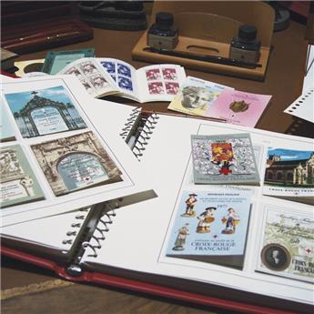 1 album Supra + jeux CROIX ROUGE 1952-2016