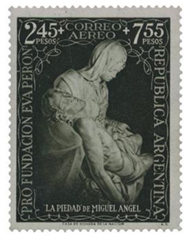 n°41** - Timbre ARGENTINE Poste Aérienne