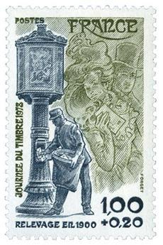 n° 2004a -  Selo França Correios