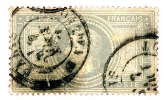 n°33 obl. B/TB - Timbre France Poste