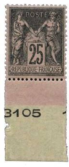 n°97** - Timbre France Poste
