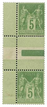 n°106a** - Timbre France Poste