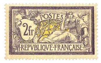 n°122* - Timbre France Poste