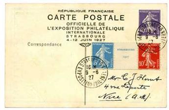 n°242A obl. sur entier postal commémoratif - Timbre France Poste